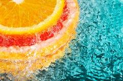 πορτοκάλι γκρέιπφρουτ Στοκ Φωτογραφίες