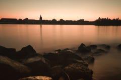 πορτοκάλι γυαλιού Στοκ εικόνες με δικαίωμα ελεύθερης χρήσης