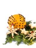 πορτοκάλι διακοσμήσεων στοκ φωτογραφία με δικαίωμα ελεύθερης χρήσης