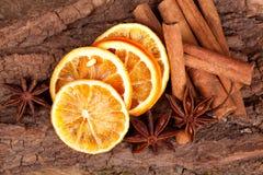 πορτοκάλι κανέλας γλυκά Στοκ εικόνες με δικαίωμα ελεύθερης χρήσης