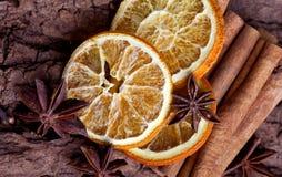 πορτοκάλι κανέλας γλυκά Στοκ Εικόνα