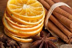 πορτοκάλι κανέλας γλυκά Στοκ Φωτογραφίες