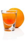 πορτοκάλι καρπού κοκτέιλ Στοκ Εικόνα