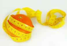 πορτοκάλι καρπού σιτηρε&sig Στοκ Εικόνα
