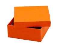 πορτοκάλι κιβωτίων Στοκ Φωτογραφίες