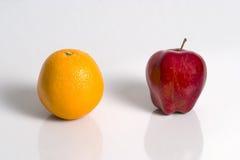 πορτοκάλι μήλων Στοκ φωτογραφία με δικαίωμα ελεύθερης χρήσης