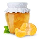 πορτοκάλι μαρμελάδας στοκ φωτογραφίες