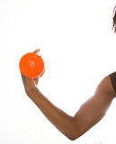 πορτοκάλι μπουκλών Στοκ φωτογραφία με δικαίωμα ελεύθερης χρήσης