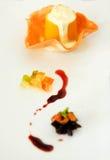 Πορτοκάλι πουτίγκας Στοκ Εικόνες