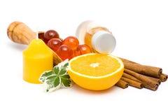 πορτοκάλι που χαλαρώνει Στοκ εικόνα με δικαίωμα ελεύθερης χρήσης