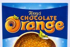 Πορτοκάλι σοκολάτας του Terry Στοκ εικόνα με δικαίωμα ελεύθερης χρήσης