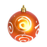 πορτοκάλι Χριστουγέννων  Στοκ φωτογραφίες με δικαίωμα ελεύθερης χρήσης