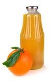 πορτοκάλι χυμού καρπού μπ&omi Στοκ Εικόνες