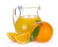 πορτοκάλι χυμού καρπού Στοκ φωτογραφίες με δικαίωμα ελεύθερης χρήσης