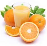 πορτοκάλι χυμού καρπών στοκ φωτογραφίες