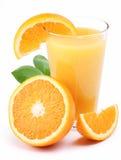 πορτοκάλι χυμού καρπών στοκ εικόνες