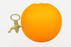 πορτοκάλι χυμού ελεύθερη απεικόνιση δικαιώματος