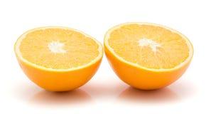 Πορτοκάλι, appelsin που απομονώνεται στοκ φωτογραφία