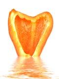 πορτοκάλι peper Στοκ Φωτογραφία