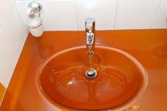 πορτοκάλι siink Στοκ εικόνες με δικαίωμα ελεύθερης χρήσης