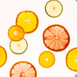 πορτοκάλια ασβεστών λεμονιών εσπεριδοειδών στενός δίσκος χρωμάτων έννοιας επάνω στο watercolor ποικιλίας τρόφιμα υγιή αφηρημένη τ Στοκ φωτογραφία με δικαίωμα ελεύθερης χρήσης