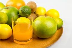 πορτοκάλια ασβεστών λεμονιών εσπεριδοειδών Στοκ εικόνες με δικαίωμα ελεύθερης χρήσης