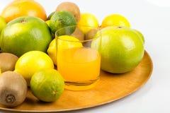 πορτοκάλια ασβεστών λεμονιών εσπεριδοειδών Στοκ Φωτογραφίες