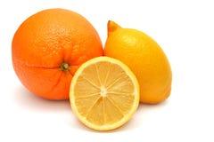 Πορτοκάλια και λεμόνια Στοκ Φωτογραφία