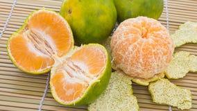 Πορτοκάλια και tangerines Στοκ εικόνα με δικαίωμα ελεύθερης χρήσης