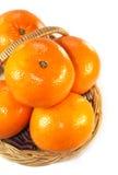 Πορτοκάλια σε ένα καλάθι Στοκ φωτογραφία με δικαίωμα ελεύθερης χρήσης