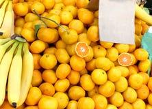 Πορτοκάλια σωρών Στοκ φωτογραφία με δικαίωμα ελεύθερης χρήσης
