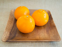 πορτοκάλια τρία Στοκ Εικόνα