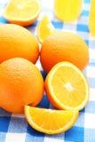 πορτοκάλια ώριμα Στοκ Εικόνα