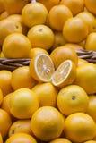 πορτοκάλι αποκοπών Στοκ Φωτογραφία