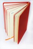 Πορτοκάλι βιβλίων σημειώσεων Στοκ Εικόνες