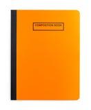 Πορτοκάλι βιβλίων σύνθεσης Στοκ Φωτογραφία
