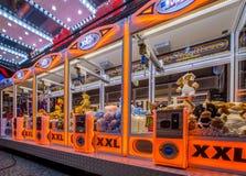 Πορτοκάλι γερανών Arcade Στοκ εικόνες με δικαίωμα ελεύθερης χρήσης