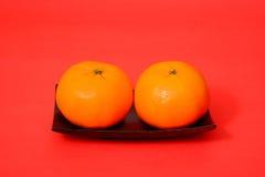 Πορτοκάλι για το κινεζικό νέο έτος Στοκ εικόνα με δικαίωμα ελεύθερης χρήσης