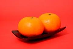 Πορτοκάλι για το κινεζικό νέο έτος Στοκ Εικόνες