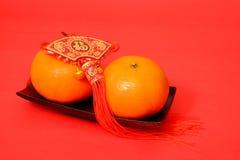 Πορτοκάλι για το κινεζικό νέο έτος Στοκ Φωτογραφίες