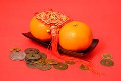 Πορτοκάλι για το κινεζικό νέο έτος Στοκ φωτογραφία με δικαίωμα ελεύθερης χρήσης