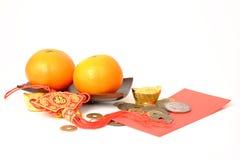 Πορτοκάλι για το κινεζικό νέο έτος Στοκ φωτογραφίες με δικαίωμα ελεύθερης χρήσης