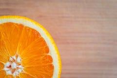 πορτοκάλι ενιαίο Στοκ Εικόνα