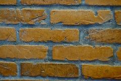 Πορτοκάλι επίγειων τούβλων Στοκ Εικόνες