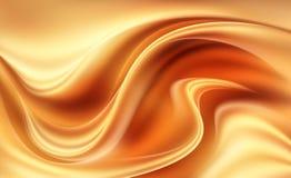 Πορτοκάλι - κίτρινο δυναμικό αφηρημένο σύγχρονο υπόβαθρο Στοκ Φωτογραφίες
