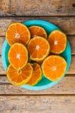 πορτοκάλι καρπού που τεμ στοκ εικόνα