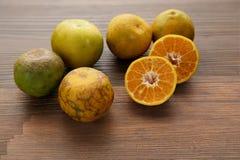 πορτοκάλι καρπών Στοκ Εικόνες