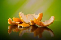 Πορτοκάλι - μακροεντολή Στοκ φωτογραφίες με δικαίωμα ελεύθερης χρήσης