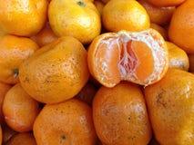 Πορτοκάλι - μακροεντολή Στοκ Εικόνα
