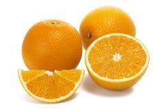 πορτοκάλι νωπών καρπών Στοκ Φωτογραφία